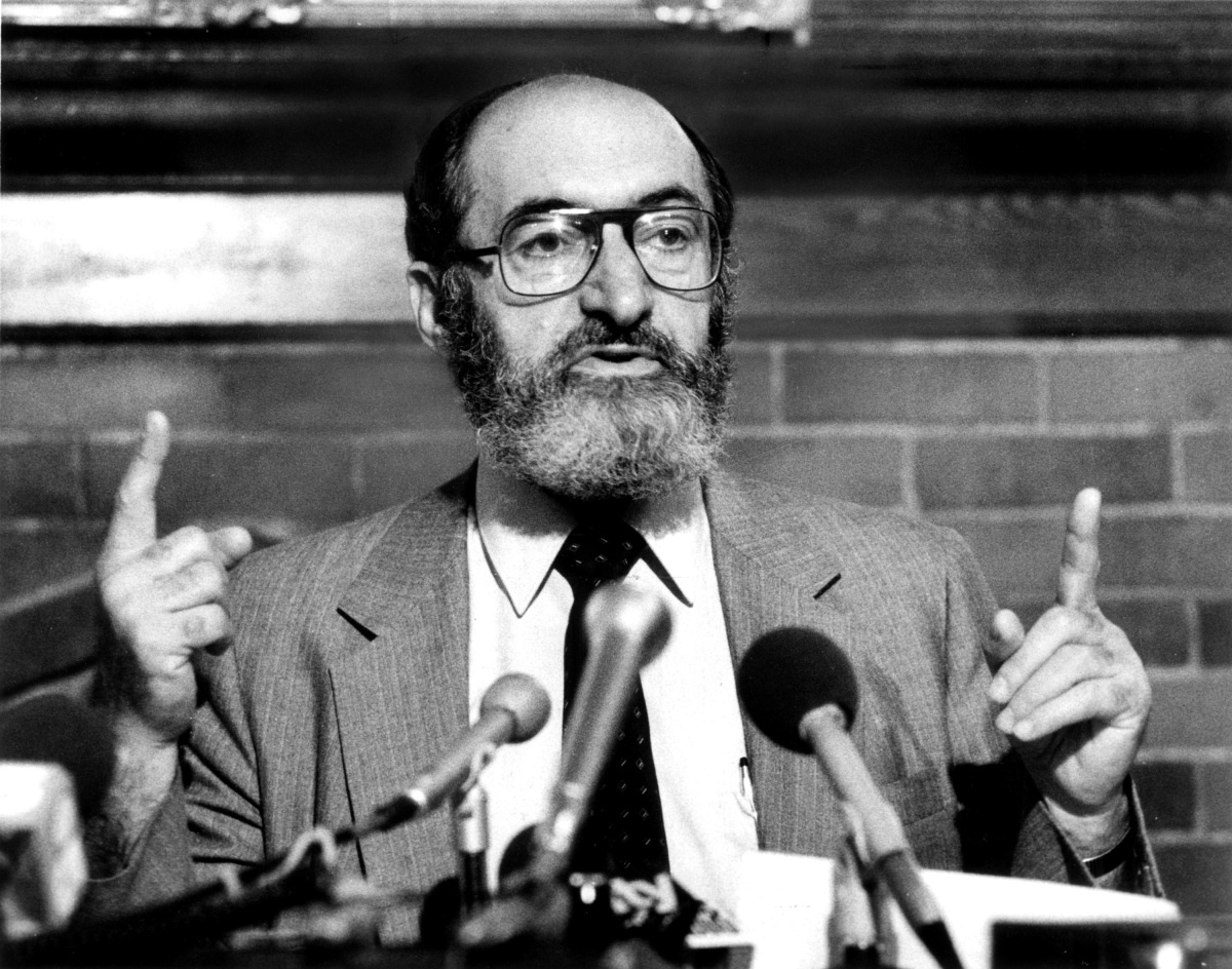 Dr. Henry Morgentaler, One of CFIC's Early Leaders/Founders, 1984