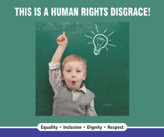 Winnipeg Bus Shelter Ads Highlight Human Rights Violations