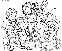 Spring is coming: Centre for Inquiry Canada Colouring Contest