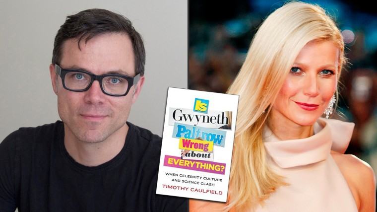 "Timothy Caulfield: ""Is Gwyneth Paltrow Wrong About Everything?"""