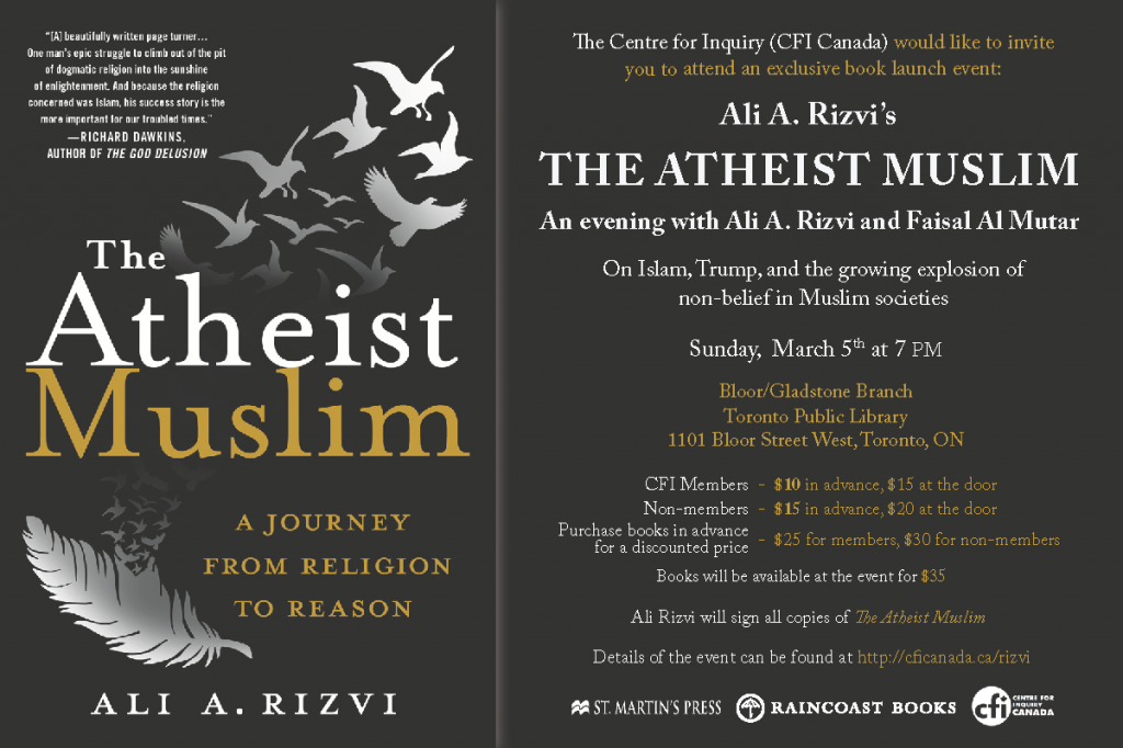 The Atheist Muslim Evite