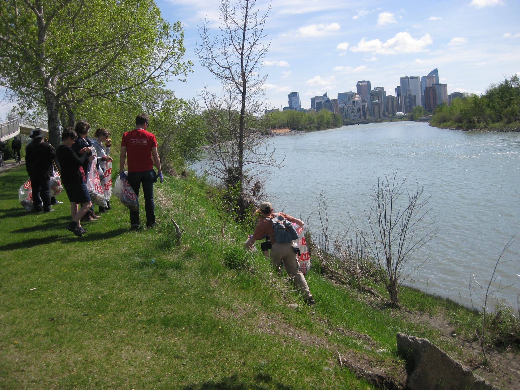 Calgary Annual Pathway & River Cleanup