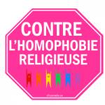 CONTRE L'HOMOPHOBIE RELIGIEUSE