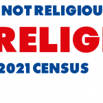 "Select ""No Religion"" when you complete your 2021 Canadian Census"